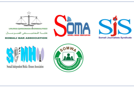 United for Defending Freedom of Expression: Somali media and journalists' associations sign a historic MOU with Bar Association